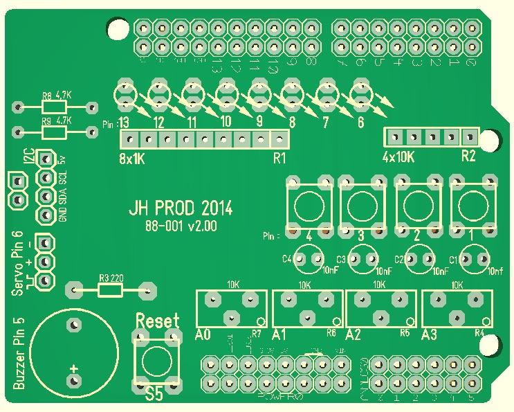 Arduino shield I:O v2_2