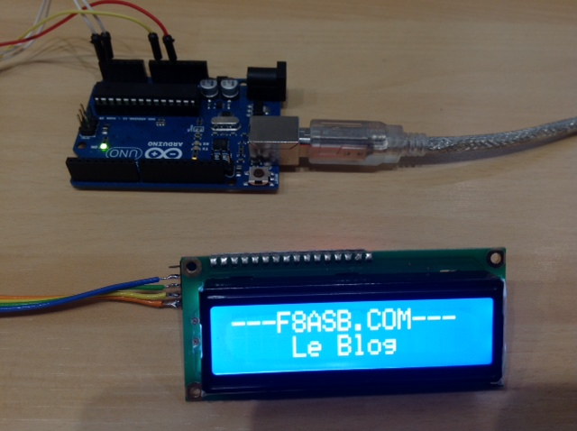 I2C to LCD