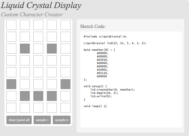 liquid crystal generator