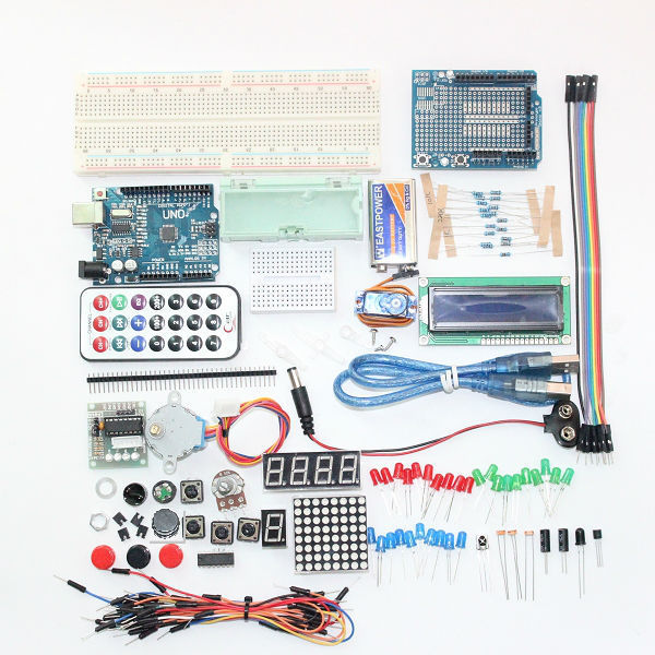 UNO-Basic-Starter-Learning-Kit-Upgrade-Version-For-Arduino-Smart-Electronics