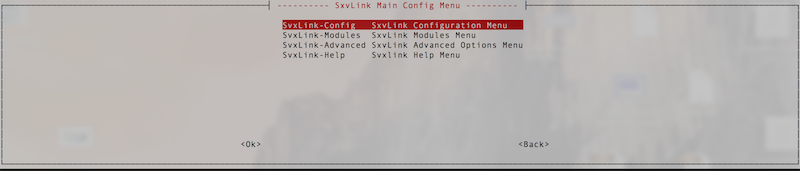 config-menu